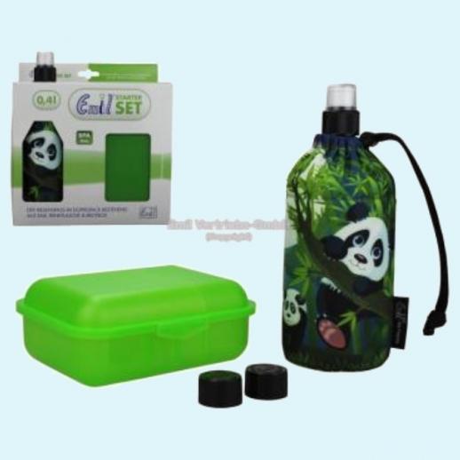 Geschenkset: Emil die Flasche - Panda - tierisch - Neues Design