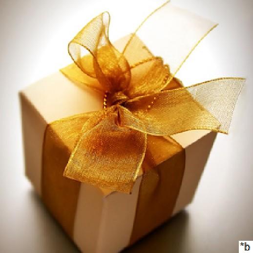 Geschenkverpackung für einen Artikel oder mehrere Artikel GESCHENK!