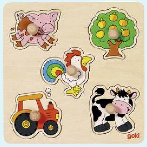 Holzspielzeug Holz Puzzle Kinder Motorik Spielzeug