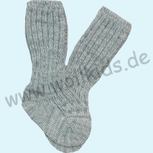 NEU: Warme weiche Babysocke 75% Schurwolle, 25% Baumwolle