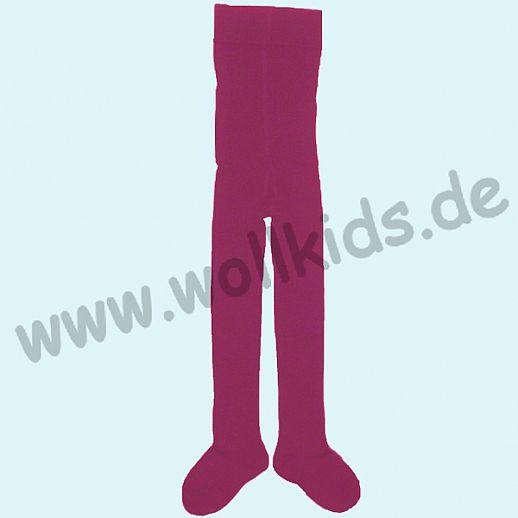 Grödo Kinder Strumpfhose uni kbA BW pink BIO BAUMWOLLE