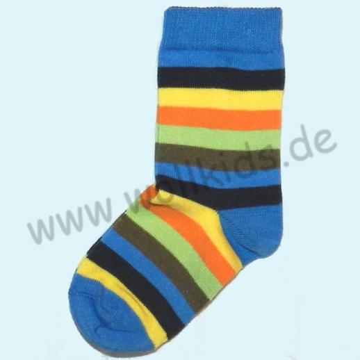 Grödo Süße Kinder-Socken Ringel kbA BW BIO Organic