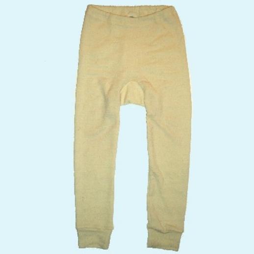 SALE-Abverkauf: COSILANA: Kinder-Unterhose - lang - Wolle - natur kbT Organic BIO