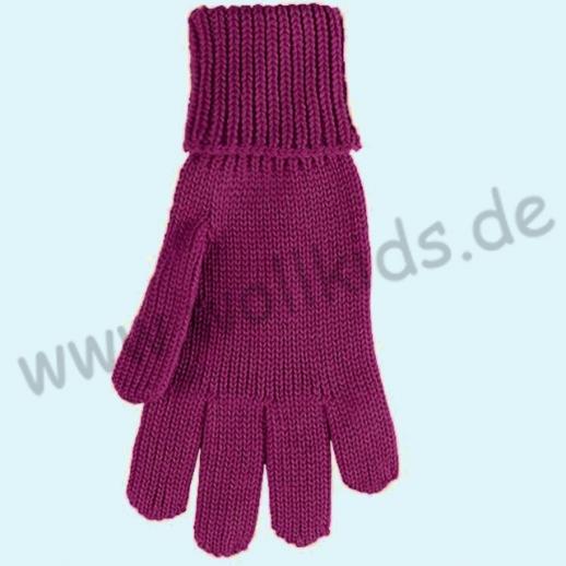 GENIAL: PurePure Fingerhandschuhe für Kinder - Schurwolle kbT mit Seide Organic