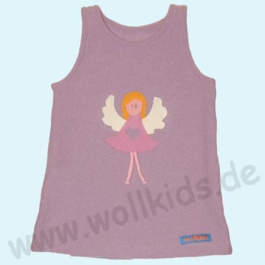 Walk-Kleid flieder Engel Schutzengel - zuckersüß - Reine Schurwolle
