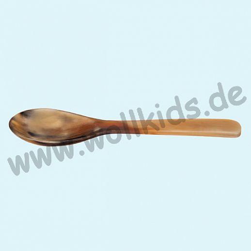 Kinderlöffel aus Horn - Kinderesslöffel - natürliche Löffel 15cm Löffel - gesund Leben