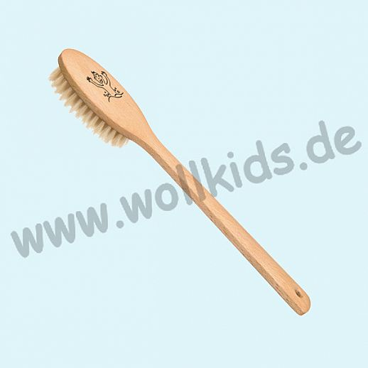 KOSTKAMM: Kinder Badebürste, Buchenholz, weiche Borste für empflindliche Haut