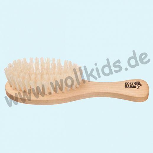 KOSTKAMM: Kinder-Bürste, Buchenholz, weiche Borste vom Hausschwein 13cm