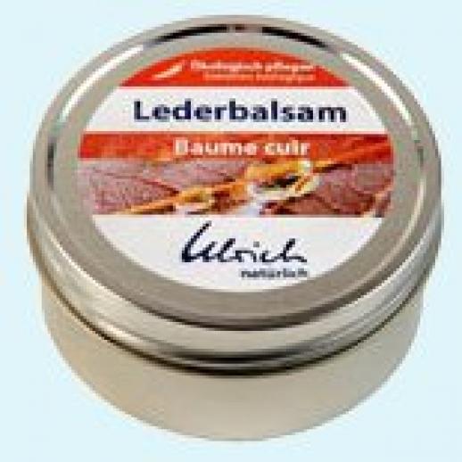 Lederbalsam - Ulrich natürlich - hochwertiges Lederfett - Schuhcreme BIO