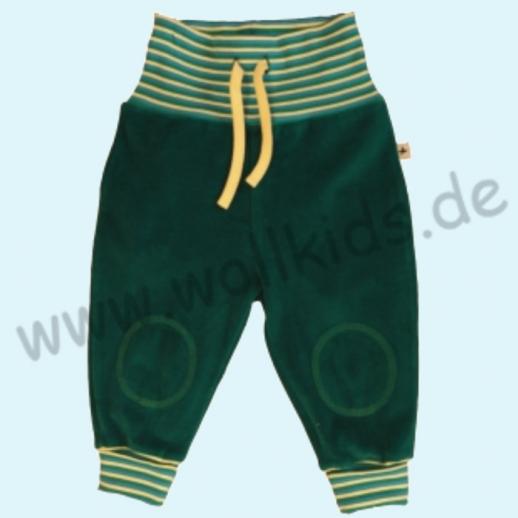 LEELA COTTON: BIO Baumwolle Baby Hose Nicky - Nickyhose petrol = smaragd NEU