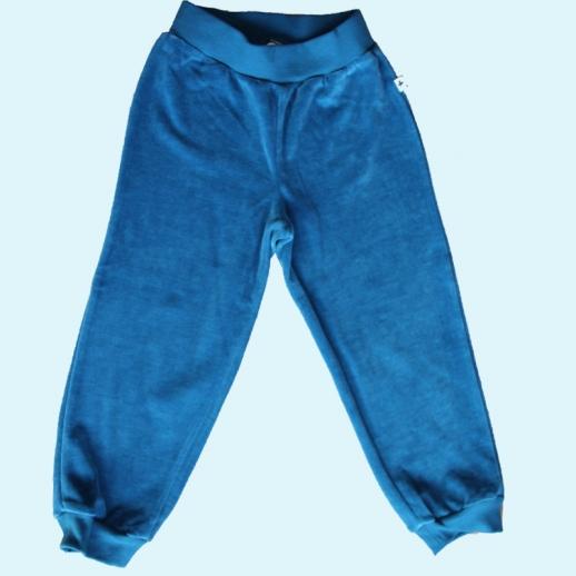 LEELA COTTON: BIO Baumwolle Hose Nicky - Nickyhose blau saphir NEU