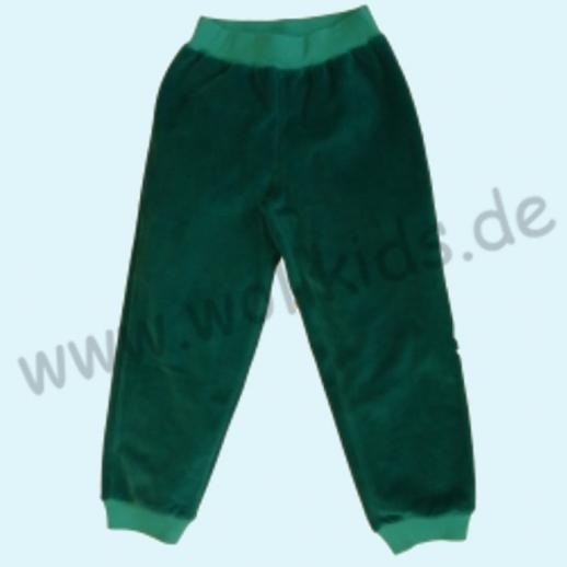 LEELA COTTON: BIO Baumwolle Hose Nicky - Nickyhose smaragd petrol NEU