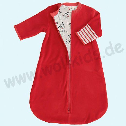 LEELA COTTON: BIO Baumwolle Baby Schlafsack Nicky - traumhaft kuschelig