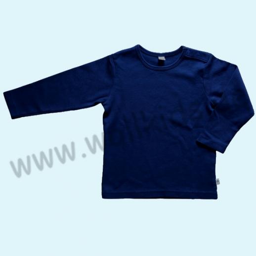 BIO BAUMWOLLE Leela Cotton Langarm T-Shirts kbA BW Uni Langarm Shirt BASIC navy marine