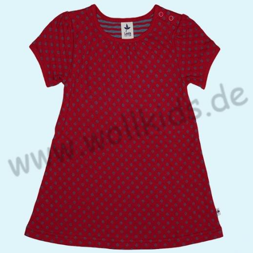 LEELA COTTON Sommerkleid Isfahan rot BIO Baumwolle ORGANIC rot
