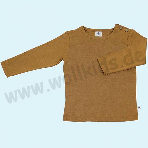 BIO BAUMWOLLE Leela Cotton Langarm T-Shirts kbA BW Uni Langarm Shirt BASIC ingwer