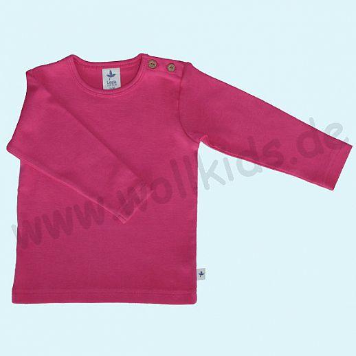 BIO BAUMWOLLE Leela Cotton Langarm T-Shirts kbA BW Uni Langarm Shirt BASIC pink