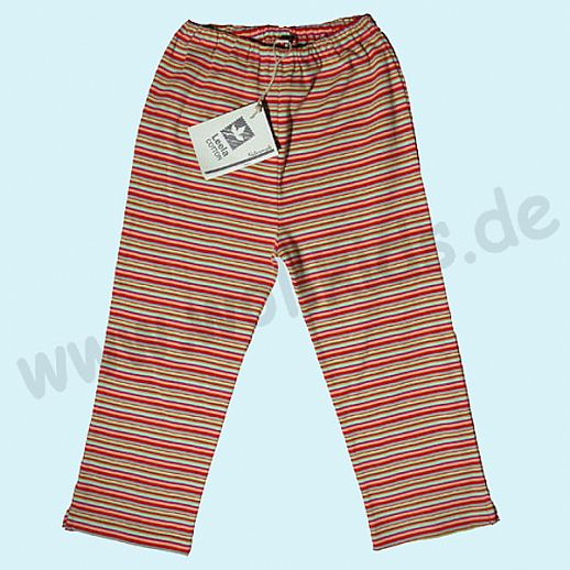 BIO Baumwolle Leela Cotton Baby & Kinder Leggin 7/8 Länge Sonnenringel
