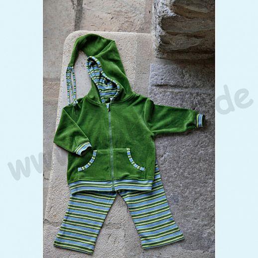 BIO Baumwolle Leela Cotton Baby & Kinder Leggin 7/8 Länge Wiesenringel