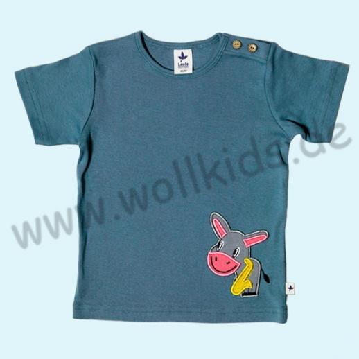 BIO Leela Cotton Kurzarm T-Shirts kbA Baumwolle Organic taubenblau ESEL