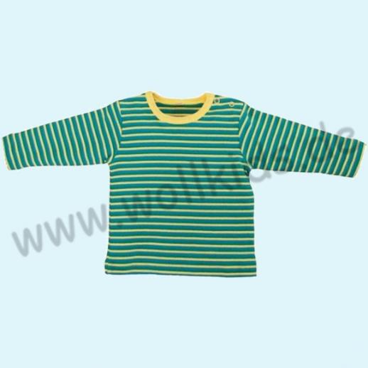BIO Baumwolle Leela Cotton Langarm-Shirt Ringel