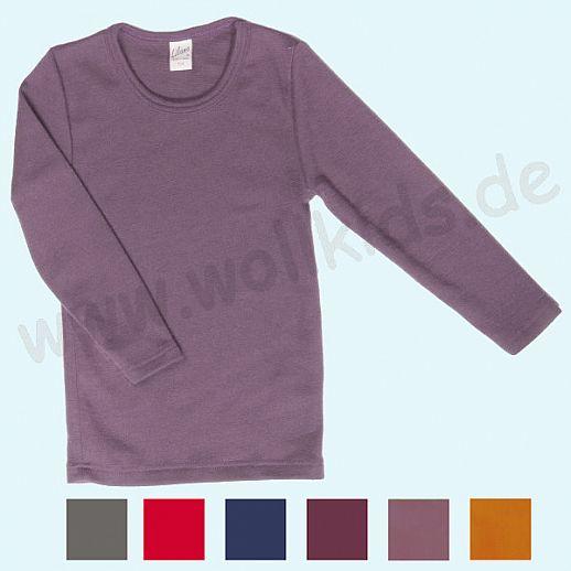 LILANO: Wunderschönes Kinder- Shirt - Pulli  Unishirt - Wolle-Seide - extra warm und kuschelig