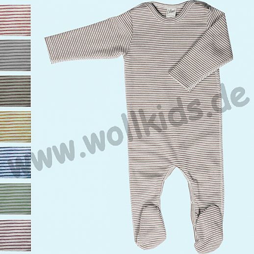 Overall - auch Schlafoverall von Lilano - Baby Body - Longjohn - Overall mit Beinen, Armen & Fu