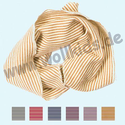 Genial: Lilano - Schlauchschal - Loop - Wolle Seide - viele Farben Ringel
