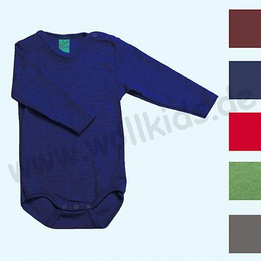 Lilano - Baby Body - Babybody - Wolle-Seide uni - extra kuschelig & warm