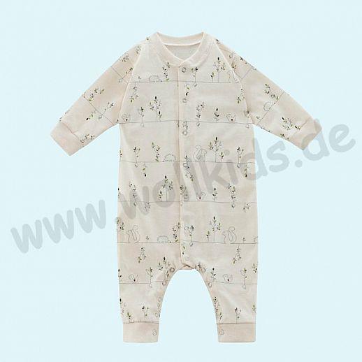 NEU: Bio Baumwolle Babystrampler - Schlafanzug - Strampler - Einteiler - GOTS - Organic