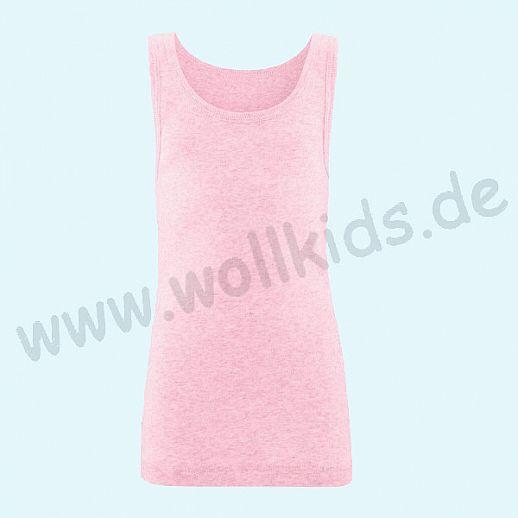 NEU: Livingcrafts Trägerhemd - Achselhemd - Hemd - Unterhemd - rose meliert - BIO Baumwolle GOTS