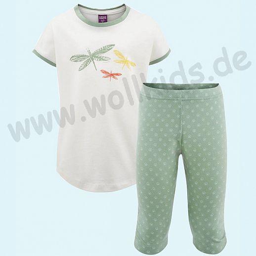 Zauberhafter Mädchen-Schlafi Sommer - Schalfanzug aus BIO Baumwolle (kbA)