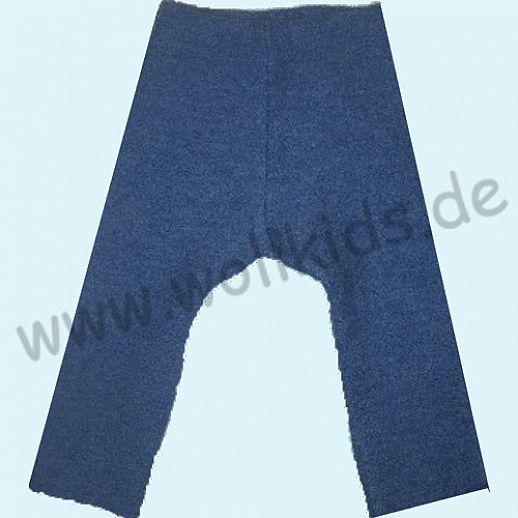 Sonderfarbe: WOLLKIDS Leggin Longie Jeans Walklongie Schurwolle Hose