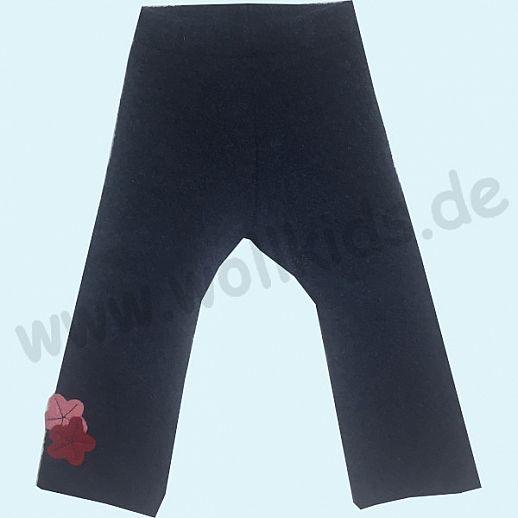 Sondermodell: WOLLKIDS Leggin / Longie Jeans Walklongie Schurwolle Hose 74/80