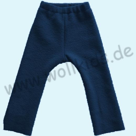 NEU: Leggin / Longie navy Öko-Walk - Schurwolle - fester gewalkt