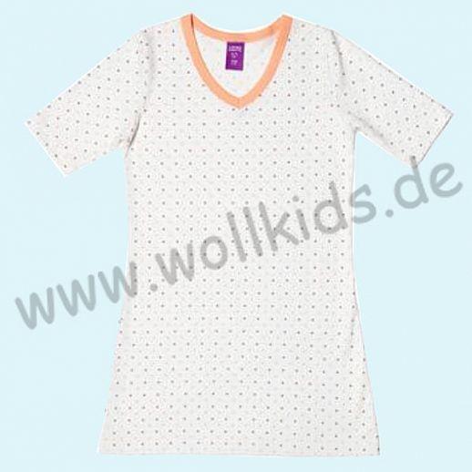 Ganz süßes Mädchen-Nachthemd Schlafi aus BIO Baumwolle (kbA)