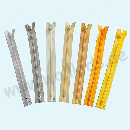 NEU: Reißverschluß - 20cm - super Qualität - über 40 Farben - ideal für Kissen, Taschen, Kleidung