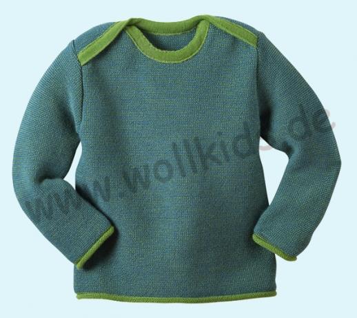 Disana - Melange - Pullover - 100% kbT-Schurwolle GOTS Babypulli ... fcb26d8aee