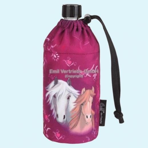 NEU: Emil die Flasche - Hits4Kids - Horse pink - Pferde Mädchentraum