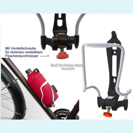 NEU:  EMIL Fahrrad-Flaschenhalter - sofort lieferbar