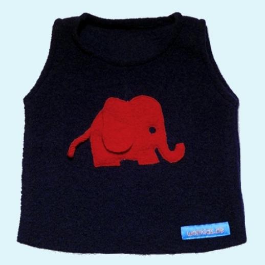 Schlupfweste Marine Elefant rot Walk Weste Pullunder