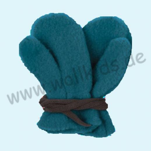NEU in 3 Größen! PURE PURE by Bauer: Richtig warme weiche Wollfleece Babyhandschuhe Fäustlinge - GOTS