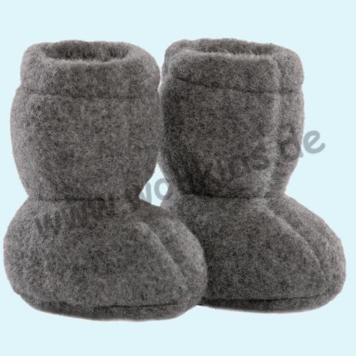 NEU in 3 Größen! PURE PURE by Bauer: Wollfleece weiche Babystiefel - Schuhe ideal auch für Traglinge