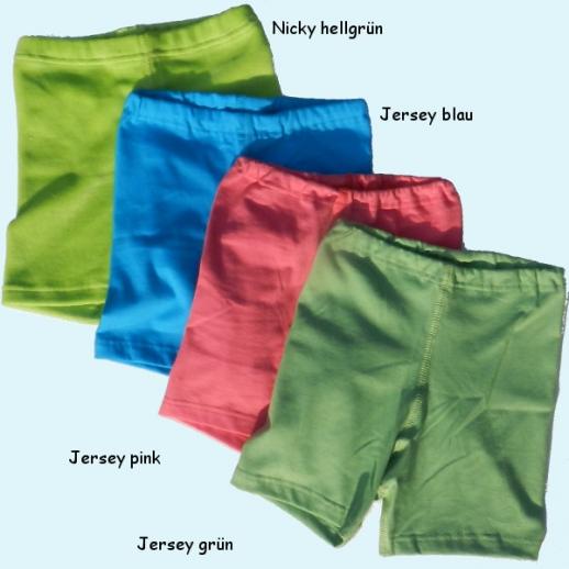 NEU * Storchenkinder Shortie 4 Farben * Nicky grün, blau, pink, grün BIO Baumwolle