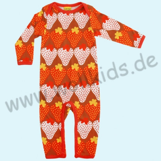 SALE: DUNS Schweden: BIO-Baumwolle GOTS Body Suit Longjohn Overall
