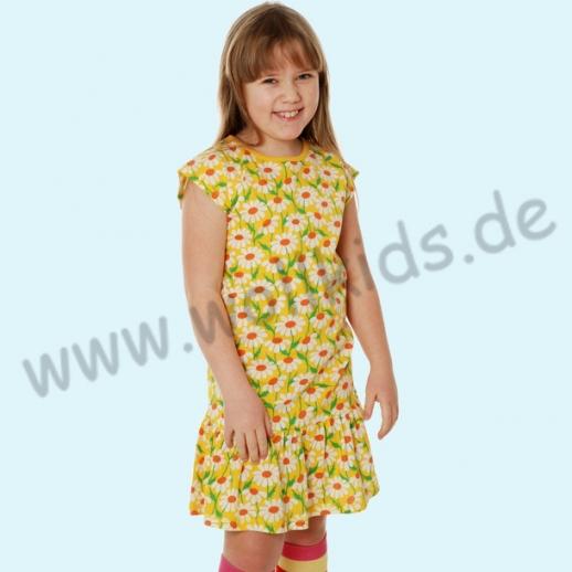 SALE: DUNS Schweden: BIO-Baumwolle GOTS - süßes Kleid mit Volant