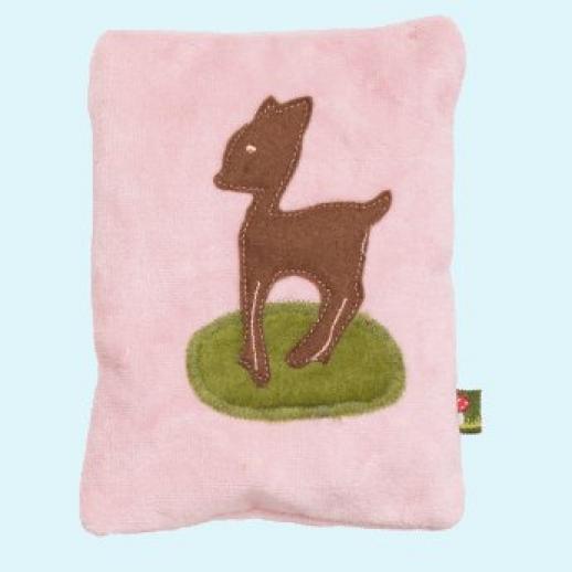 Pat & Patty: Dinkelkissen Bambi mit Lavendel beruhigend 100% kbA Baumwolle