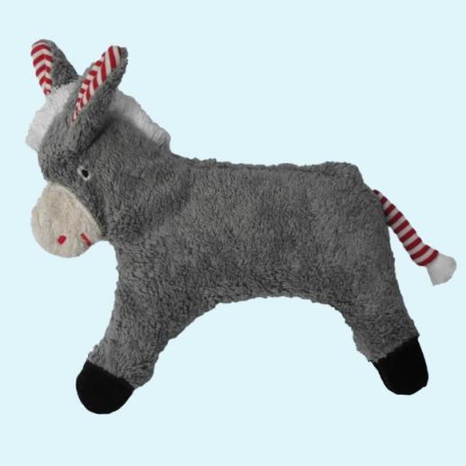Pat & Patty: Kuscheltier Esel Wärmekissen Bio Dinkel 100% kbA Baumwolle