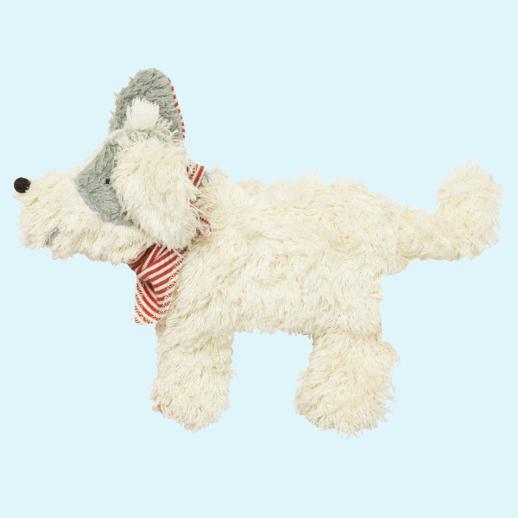 Pat & Patty: Kuscheltier Hund Wärmekissen Bio Dinkel 100% kbA Baumwolle