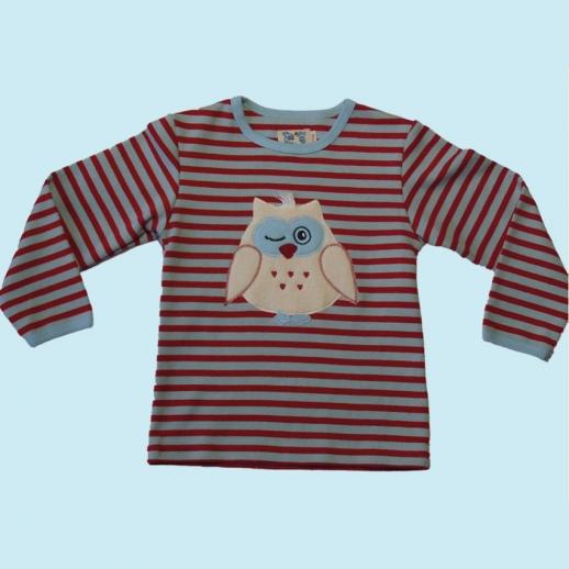 Pat & Patty: super süßes Sweatshirt Pulli Pullover Eule 100% kbA Baumwolle